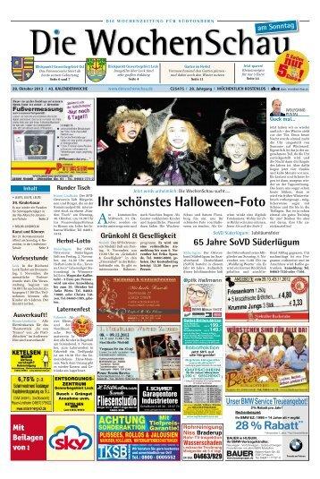Ihr schönstes Halloween Foto - Die Wochenschau