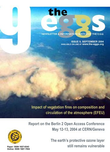 Report on the Berlin 2 Open Access Conference - European ...