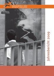 hresberichte 1992–2009 - Mannebüro Züri