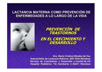 prevención de trastornos en el crecimiento y desarrollo - Filiales