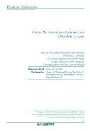 Terapia Nutricional para Pacientes com ... - Projeto Diretrizes