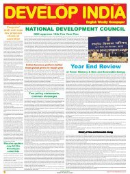 Develop India Year 4, Vol. 1, Issue 229, 23-30 December, 2012.pmd