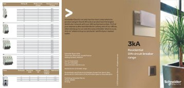 3kA Product offer - Schneider Electric