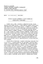 Stránský, K.: Rozbory kovových předmětů a jejich význam pro ...
