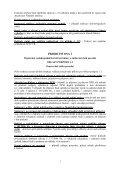 Příloha č. 2 - Doklady požadované k Rozhodnutí o poskytnutí dotace a - Page 3