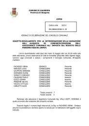 Delibera C.C. n. 20 del 10.05.2012 - IRPEF comunale - Comune di ...