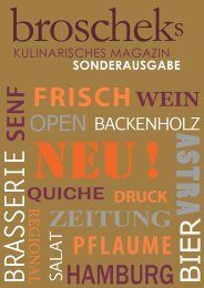 Brasserie SENF FRISCH - Broscheks