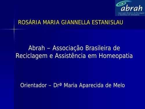 DESMAME PRECOCE - Associação Brasileira de Reciclagem e ...
