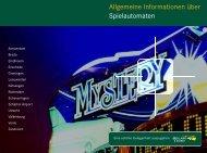 Allgemeine Informationen über Spielautomaten - Holland Casino