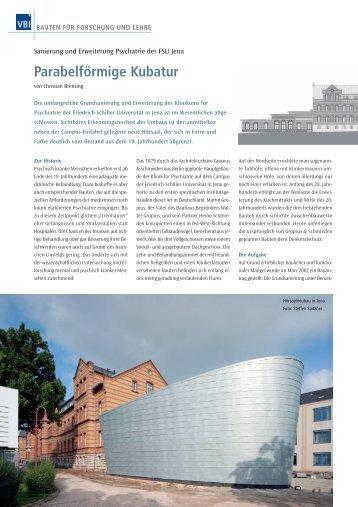 Parabelförmige Kubatur - Stefan Ludes Architekten