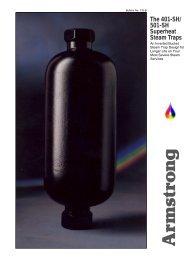 The 401-SH/ 501-SH Superheat Steam Traps - Armstrong ...