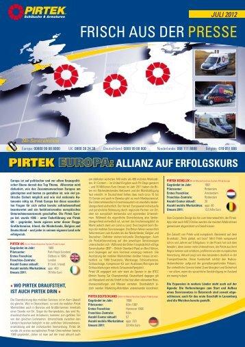 Juli 2012 - Pirtek