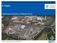 9. Papier - Institut für Druckmaschinen und Druckverfahren ...