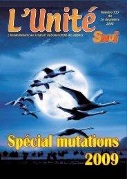 L'Unité N°915 du 16 décembre 2009