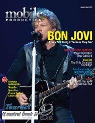 Bon Jovi - A Crew Still Doing It - Mobile Production Pro