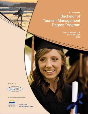 Bachelor Of Tourism Management Degree Program - LinkBC