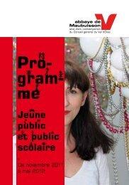 Programme public scolaire - Le CDDP du Val d'Oise