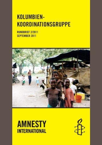 amnesty international | kolumbien-koordinationsgruppe - LIPortal