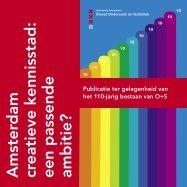 Amsterdam creatieve kennisstad: een passende ambitie?