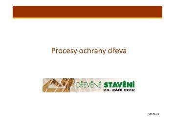 Procesy ochrany dřeva - For Arch