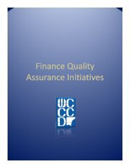 Finance Quality Finance Quality Assurance Initiatives