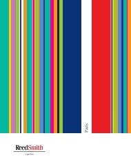 brochure - Reed Smith