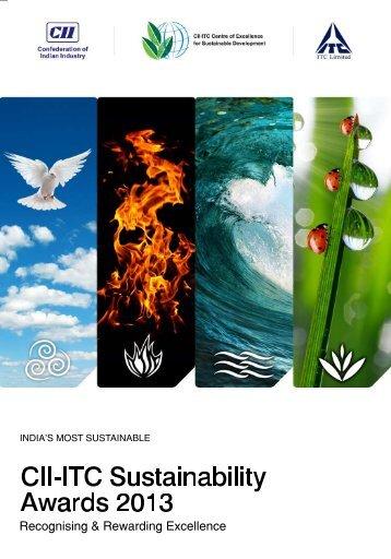 sustainability awards 2013 brochure