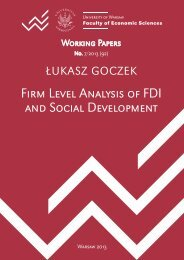 Firm Level Analysis of FDI and Social Development
