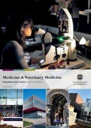 Medicine & Veterinary Medicine - Edinburgh Infectious Diseases