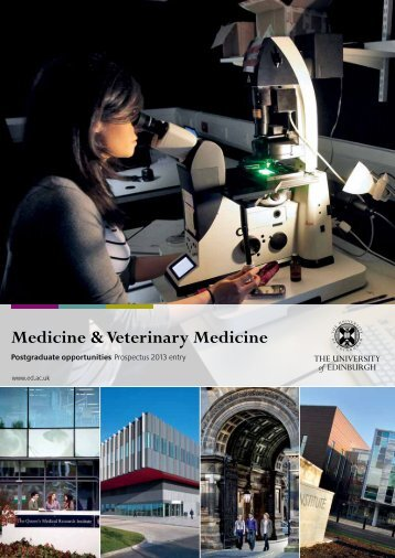 Medicine & Veterinary Medicine - Edinburgh Infectious Diseases