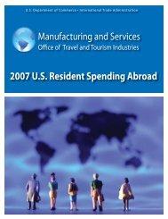 2007 U.S. Resident Spending Abroad - International Trade ...