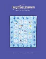 ANNUAL REPORT 2002-3.qx4 - Rainbow Hospice