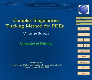 pdf of the talk - FroM-PDE