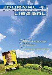 Das aktuelle Magazin der JuLis downloaden! - Junge Liberale Hessen
