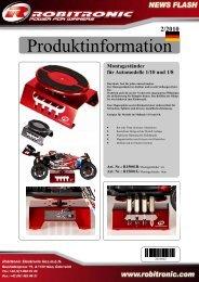 Produktinformation - Robitronic