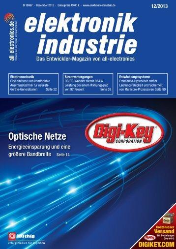 PDF-Ausgabe herunterladen (30.9 MB) - elektronik industrie