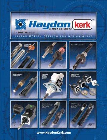HaydonKerk 2011 Drives 270812.pdf - Motion Technologies