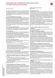 FDI/PLUSCARD Bedingungen für die MasterCard Business ...