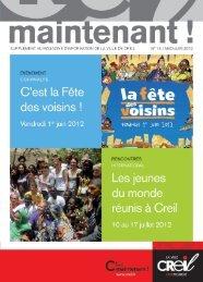 N° 14 / MAI>JUIN 2012 - Ville de Creil