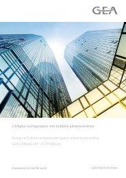 Brochure Ecotwin + adiabatische koeling - GEA Happel Belgium