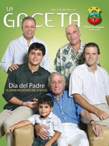 La Gaceta 249   Mayo - Club Cartagena