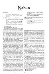 Nahum - Biblical Studies Foundation