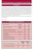 Supplément Guide d'Elevage Emplumement Lent - Cobb-Vantress - Page 2