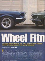 Mustang Monthly - December 2007 - Vintage Wheel Works