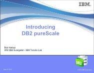 Introducing DB2 pureScale - neodbug