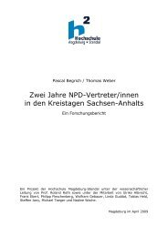 Zwei Jahre NPD in den Kreistagen Sachsen-Anhalts - Forschu…