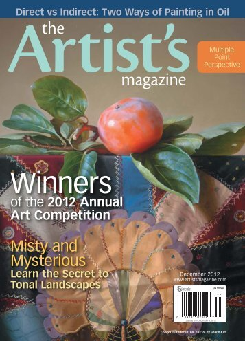 The Artist's Magazine, December 2012 - Artist's Network