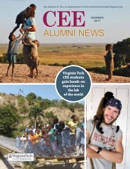 Annual Alumni Newsletter 2011 - Civil and Environmental Engineering