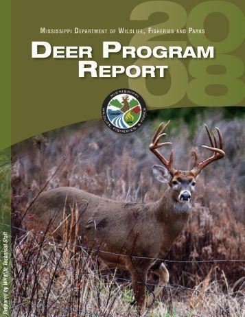 DEER PROGRAM REPORT