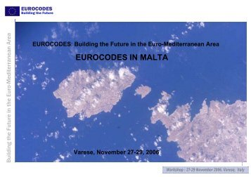 eurocodes in malta - European Laboratory for Structural Assessment